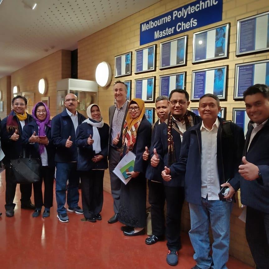 10 orang dosen Politeknik Pariwisata Makassar mengikuti Melbourne Polytechnic