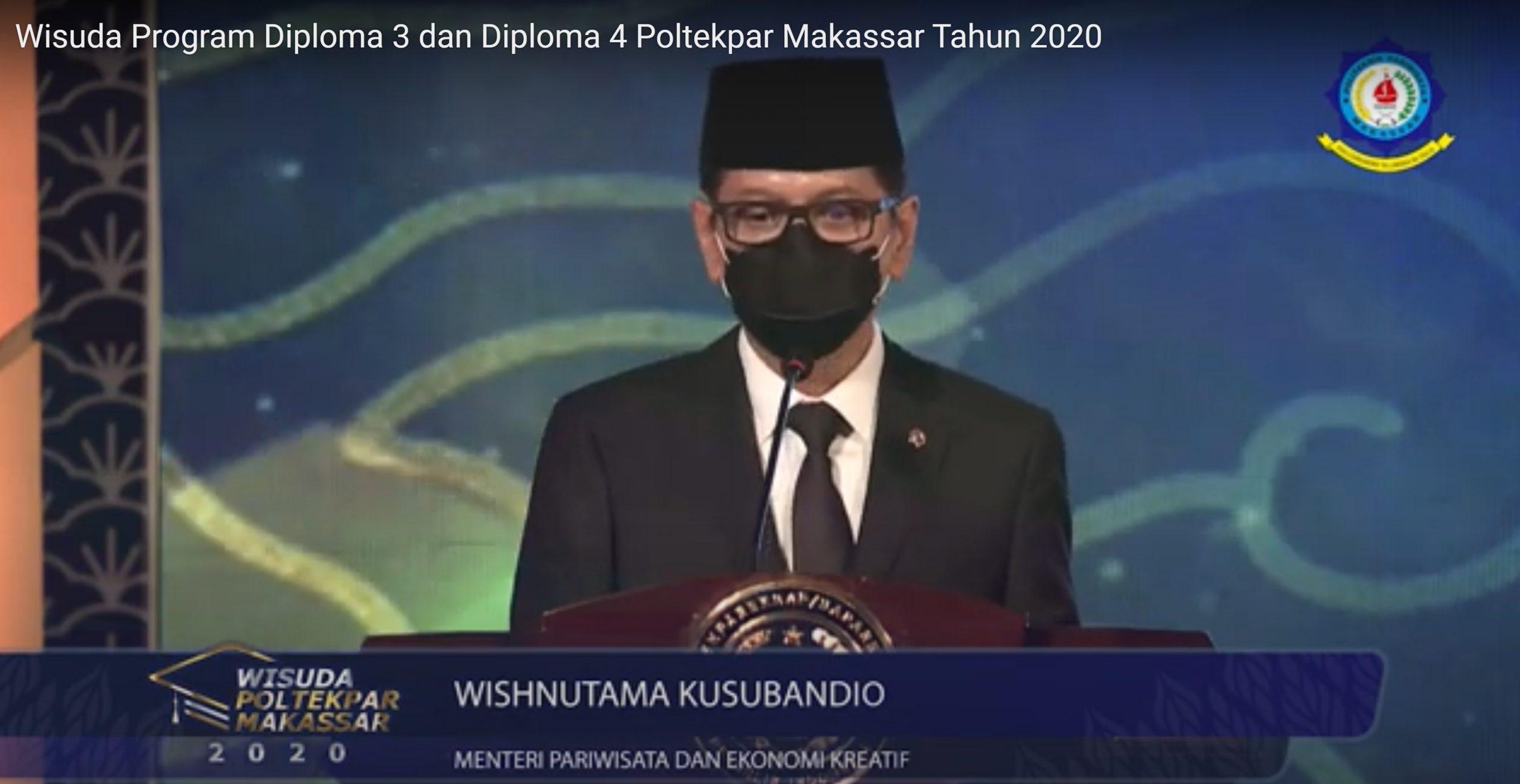 Wisuda Virtual Poltekpar Makassar Tahun 2020